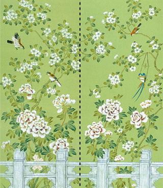 Handmade Chinese Wallpaper
